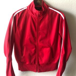 Red sporty jacket